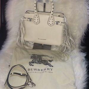 Burberry fringe purse